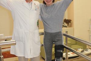 Первые шаги после спинальной травмы