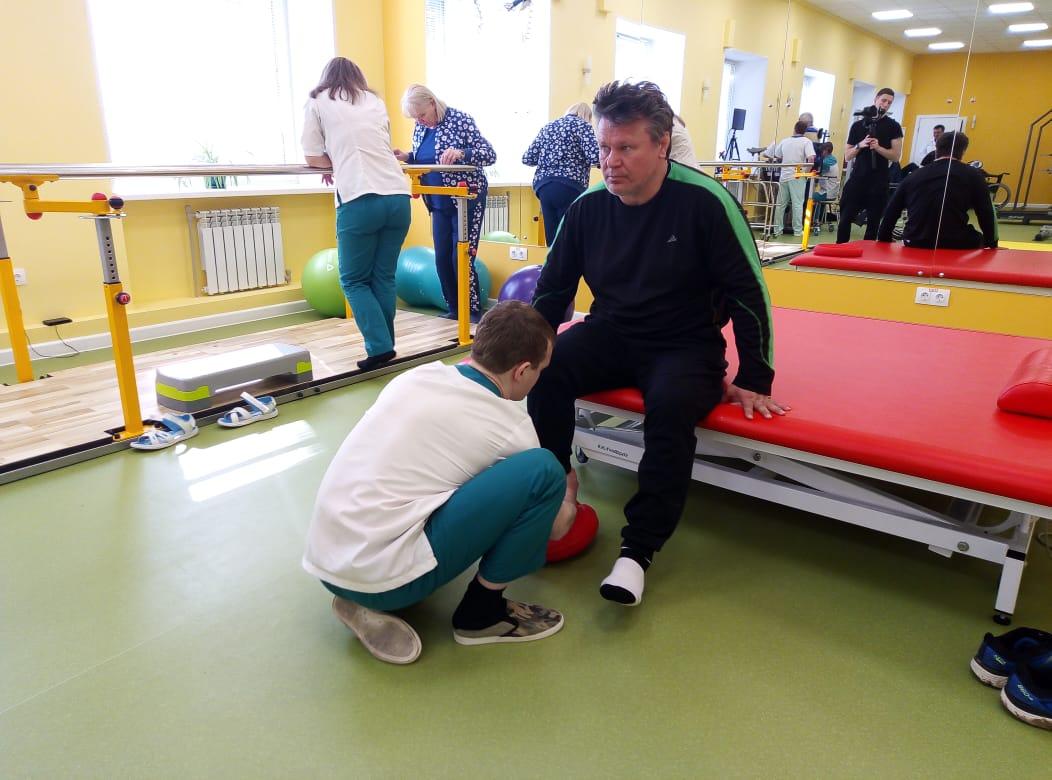 Олег Тактаров выбрал РЦ «Янтарь» для прохождения курса физической реабилитации