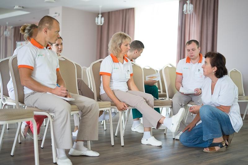 """Очередной этап обучение физических терапевтов РЦ """"Янтарь"""""""